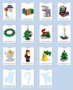 LEGO Monthly Mini Model Build Archive – Smashing Bricks, older builds, no instructions