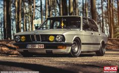 BMW e28 on banded steelies