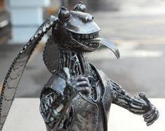 Starwar Metal sculpture - Jar jar binks -