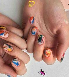 54 Exquisite Natural Nails Design For Short Nails  #newyork<br>