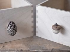 DIY-Anleitung: Möbelknäufe aus Naturmaterialien herstellen via DaWanda.com