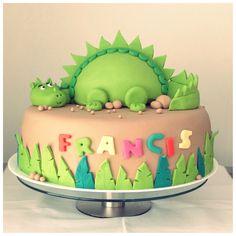Torta dinosaurio