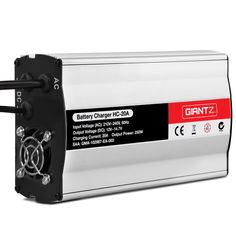 Giantz 12V Battery Charger 20 Amp Car ATV 4WD Boat Caravan Motorcycle Motorcycle Battery, Lead Acid Battery, Atv, Caravan, Charger, Operating System, Circuit, Vehicle, Warehouse