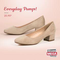 Άνετες & Τέλειες για το γραφείο! #shoesmegastores #pumps #women