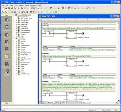 Siemens Simatic PLC Step7 programing example