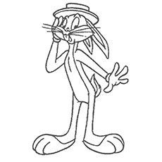 Bugs Bunny Coloring Page2