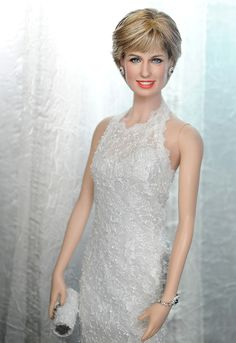 Princess Diana Dolls for Sale | ... doll art by noel cruz one of a kind hand repainted princess diana doll