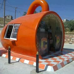 Can you believe this is a #Cafe? How cool is this! I wished I knew where this was!