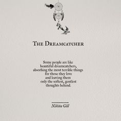 The Dreamcatcher by @nikitagill1