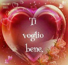 Ti Voglio Bene non dimenticarlo What Love Means, Italian Memes, Italian Phrases, Love Your Family, Emoticon, Marriage, Messages, Holiday Decor, Gifts