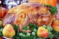 Holiday Turkey with Maple Glaze can be made for Thanksgiving or Christmas dinner. The unmistakeable flavor makes it something different for the holidays. Thanksgiving Turkey, Thanksgiving Recipes, Fall Recipes, Happy Thanksgiving, Turkey Prep, Cooking Turkey, Maple Glaze, Holiday Dinner, Barbecue Sauce