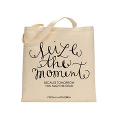 Seize the Moment bag, inspired by Buffy the Vampire Slayer. www.shopzooeymagzine.com