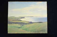 Artist, Sydney Woodward Smith, Australian, (1904-1972); Medium: Oil; Description: featuring a scene from Kiama, dated 1948.