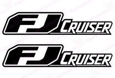Toyota FJ Cruiser Retro Door Decal Kit