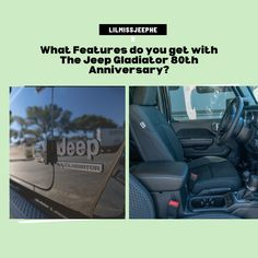 Jeep Gladiator 80th Anniversary Features Jeep Trails, Cool Jeeps, Jeep Gladiator, Hot Blondes, New Adventures, Extra Money, Anniversary, Hot Blonde Girls
