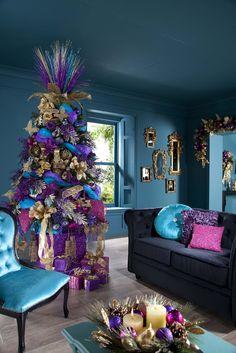 un árbol de Navidad muy Lady Gaga...