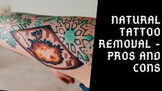 Natural Tattoo Removal - Is Natural Tattoo Removal a Best Option . Laser Tattoo, Diy Tattoo, How To Get Rid, How To Remove, Natural Tattoo Removal, Eyebrow Tattoo, The Balm, Make It Yourself, Tattoos