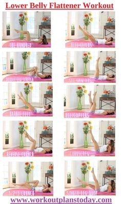 Lower Belly Flattener Workout