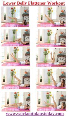 Lower Belly Flattener Workout