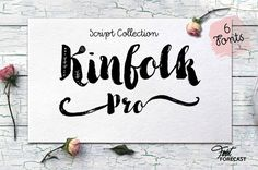 Kinfolk Pro, font by Fontforecast. Kinfolk Pro can be purchased as a desktop and a web font. Cute Fonts, Great Fonts, Fancy Fonts, New Fonts, Slab Serif Fonts, Cursive Fonts, Typography Fonts, Lettering, Script