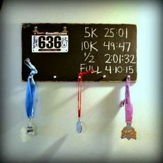 MEDAL BOARD WITH PR