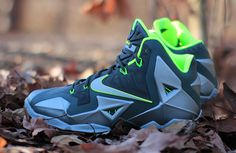 "The Nike LeBron 11 ""Dunkman"" will release on December 31st."
