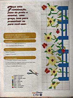 ARTES EM GRÁFICOS DE PONTO CRUZ & CIA: Jogos de Cozinha