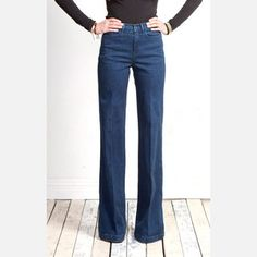 The Sailor Rosie, $69, now featured on Fab. - and love wide leg jeans!