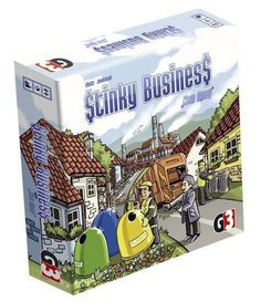 Stinky Business - Board Game - New #G3