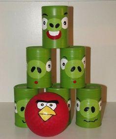 Painted Bowling Balls | Dia das Crianças: Ideias e dicas de brinquedos ecológicos
