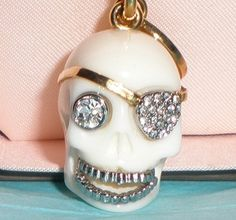 Juicy Couture skull charm, great for Halloween