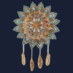 Golden Dreams Dreamcatcher