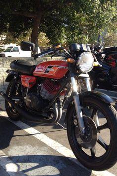 Yamaha RD400 2-stroke