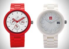 LEGO To Launch Fun, Colorful Watches With Interchangeable Parts For Adults - DesignTAXI.com