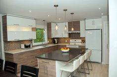 Commander et faire installer sa cuisine IKEA - Déconome Kitchen Cabinets Decor, Diy Kitchen, Kitchen Dining, Kitchen Island, Beautiful Kitchens, Kitchen Remodel, Sweet Home, Home Decor, Recherche Google