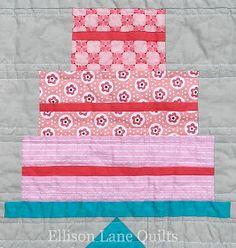 Quilt Inspiration: Free pattern day: Sweets ! Cupcakes, ice cream, lollipops and more