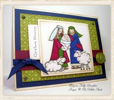 Christmas Blessings by atomicbutterfly - Cards and Paper Crafts at Splitcoaststampers