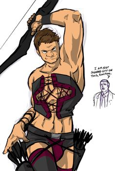 Oh lord... I love the Hawkeye Initiative.