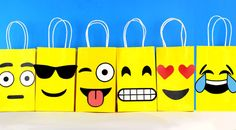 Decorate your Emoji Party with these 5 cute faces for your Favor Bags. Perfect for a Pre Teen Party. You may print as many as you need. Use them to create your own favor bags or centerpieces. This file includes: 3 Smiling Faces with Heart-Shaped Eyes 3 Smiling Faces with Sunglasses 3 Grimacing Faces with Smiling Eyes 3 Flushed Faces 3 Faces with Stuck-Out Tongue and Winking Eye 2 Laughing Tears Instruction Sheet (Bags are not included)…