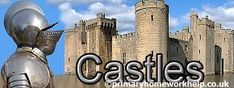 World and British History for Kids - Woodlands Resources History Activities, Teaching History, European History, British History, Facts About Castles, Motte And Bailey Castle, Math Answers, Norman Castle, Medieval World