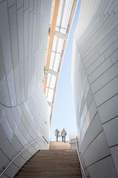 Un autre monde. Fondation Louis Vuitton. Architecte : Frank Gehry