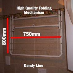 City Living Dandy Line Folding Clothesline