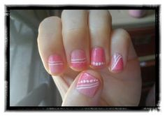 lijin: a life: S- Candy Pink Nails