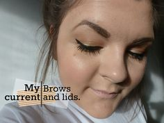 PixiRella: My Current | Brows & Lids - current makeup routine // sixties, seventies, makeup revolution, daily face