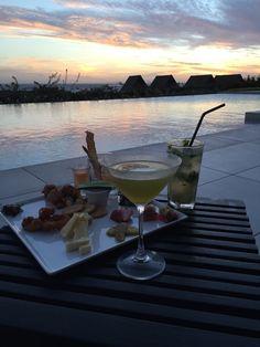 Intercontinental Fiji, Malomalo, Fiji - Cocktails and canapés at...