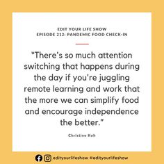 Edit Your Life podcast: Christine Koh on attention switching and teaching kids independence Minimalist Parenting, Parenting Teenagers, Raising Kids, Romance Books, Your Life, Teaching Kids, Self Care, Told You So, In This Moment