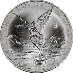 1996 Mexico Silver Libertad 1oz