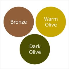 How To Wear Dark Olive For A Pure Autumn (Warm Autumn)