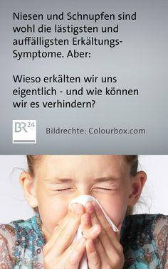 #Niesen und #Schnupfen sind wohl die lästigsten und auffälligsten #Erkältungssymptome. Wieso erkälten wir uns eigentlich und warum niesen wir? Und gibt es Hilfe gegen Schnupfen und Co.? #Erkältung #Infekt #Keime Event Ticket, First Aid, Knowledge, Health, Pictures