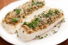 Herbed Halibut from Celebrate Everything! by Debbi Covington. $34.95 with FREE SHIPPING! www.cateringbydebbicovington.com